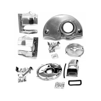 Chrome - Kit w/Air Ducts