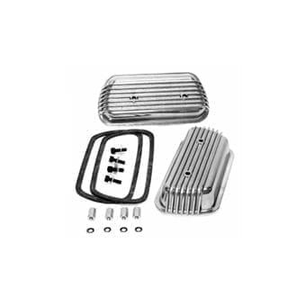 Bolt-on Aluminum Valve Covers, Pair