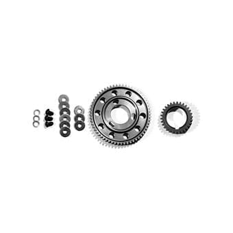 Billet Steel Washer in Slot Gear Set